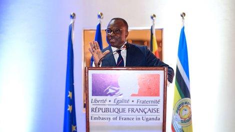 La France en Ouganda
